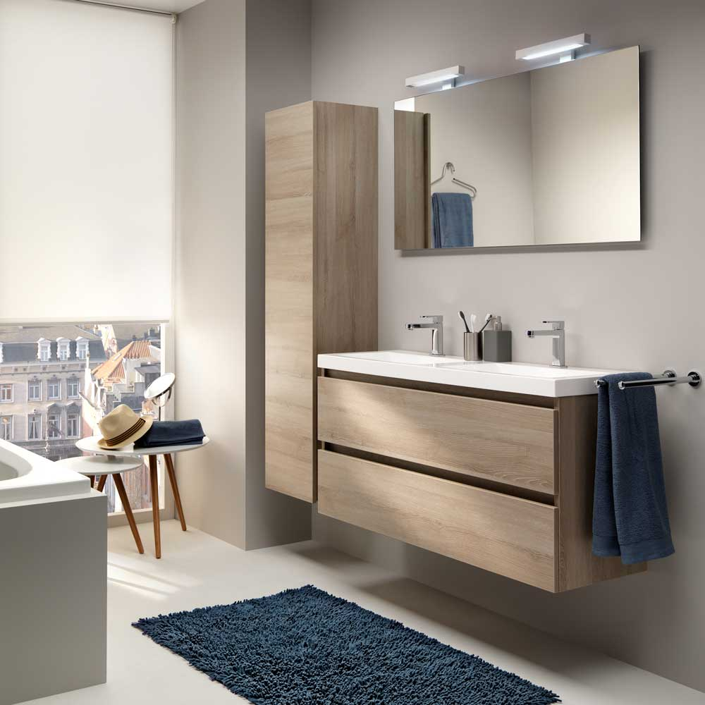 city, compact comfort | desco.be, Badkamer