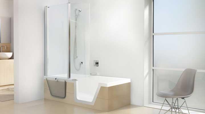Senior en seniorita - Muurpanelen badkamer ...