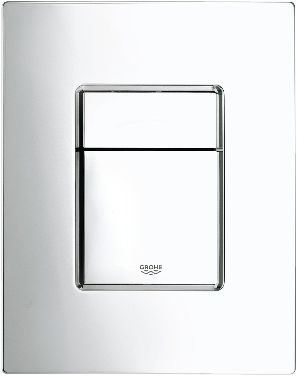 PLAQUE 2-TOUCHES COSMO CHROME GROHE