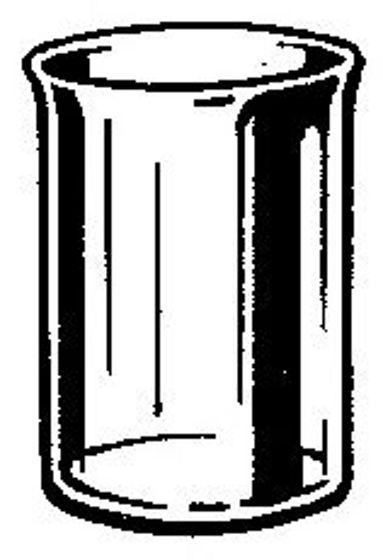 GOBELET PLASTIC BLANC