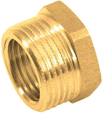 "LAITON FILETE REDUCTION 3/4""M-1/4""F"