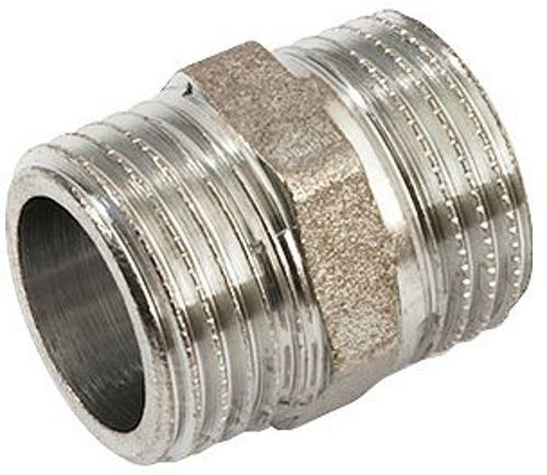 "MAMELON DOUBLE FILETE LAITON 1/2"" CHROME"