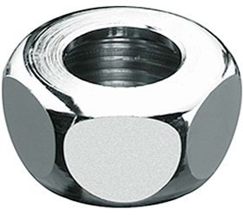 "ECROU FILETE LAITON 3/8""F-10MM CHROME"