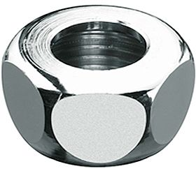 "LAITON FILETE ECROU 3/8""F-10MM CHROME"