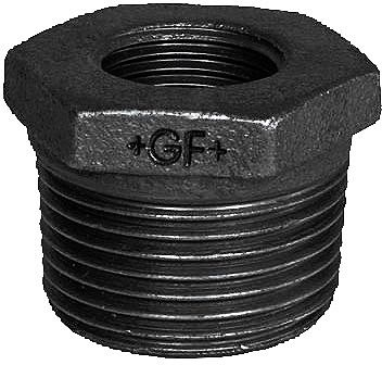"GAS REDUCTIE GF MF NR 241 3/8""-1/8"""