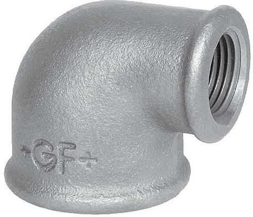 "GALVA COUDE REDUCTION 90° FF 3/4""-1/2"""