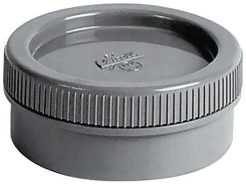 BOUCHON A VISSER PVC 80MM GRIS