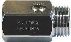 "ROB.A BILLE BALLOFIX DRT 1/2""M-1/2""F CHR"
