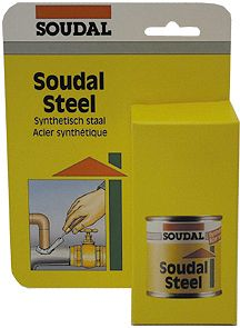 SOUDAL STEEL BLISTER 125ML