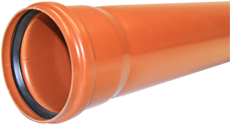 PVC BUIS RIOOL 125-2,5MM 1M PER LENGTE