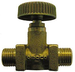"""PUNTAFSLUITER VLOEIBAAR GAS 1/4""""M"""