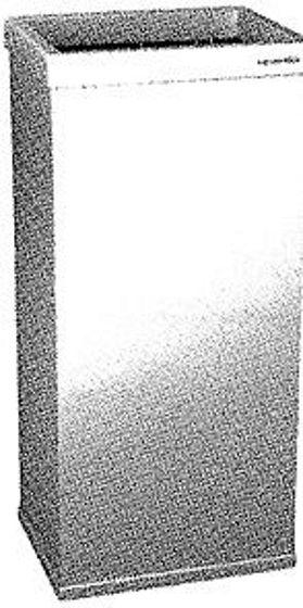 CORBEILLE A PAP.1505L VENDOR MET. BL50CM