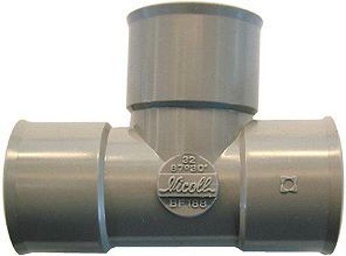 PVC T KW NICOLL FFF 90° 80MM
