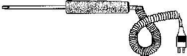 LUCHT-VLOEISTOF SONDE VOOR 2400K