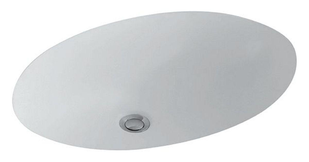 Nieuwe Badkamer Berekenen ~ onderb lavabo evana vb 51 wit 500x350mm  desco be