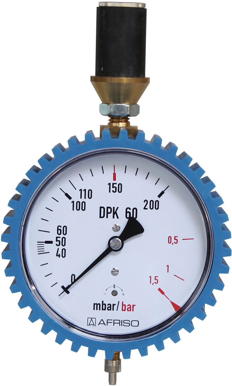MANOMETER 0/200MBAR 0/1BAR