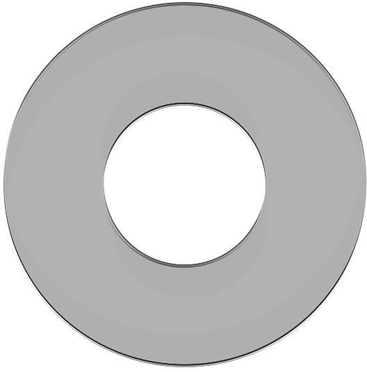 ROZET VOLA  CHROOM 60MM - GAT 33 MM