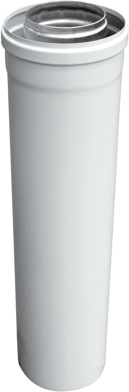 RALLONGE DUALIS 80-125MM L1000 ALU/BLANC