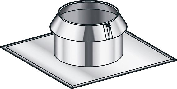 SOLIN THERM-INOX TOIT PLAT POUJ. 80MM
