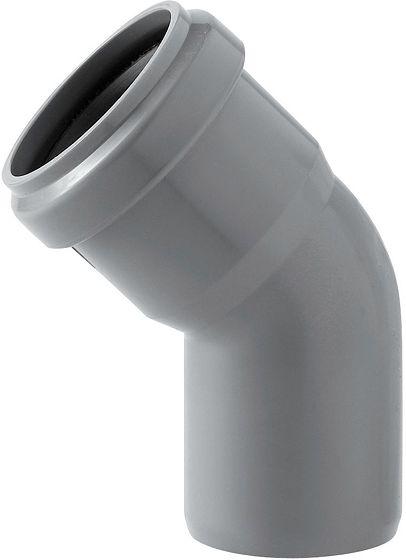 PVC ELLEBOOG EUPEN RA3B  40MM 45°