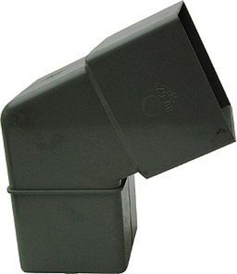 COUDE PVC GRIS EEP CARRE 67GR. 80-80MM