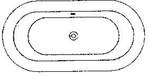 BAIN STARCKI HOESCH SNS PDS 180-90 BLANC