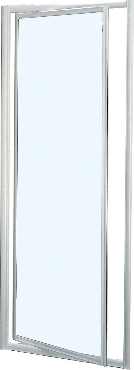 PORTE PIVOT.MIAMI 78-84 H185 BLANC-CLAIR