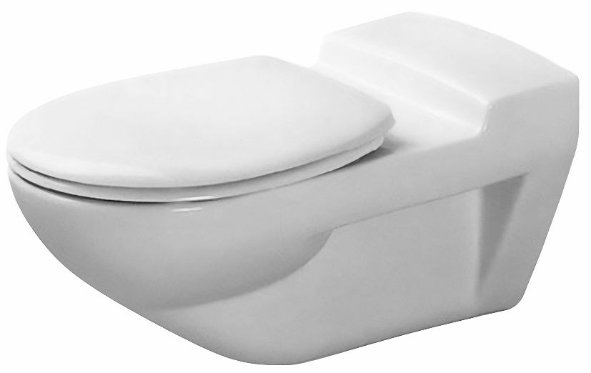 WC SUSPENDU ALLONGE ARCHITEC DURAVIT BL.