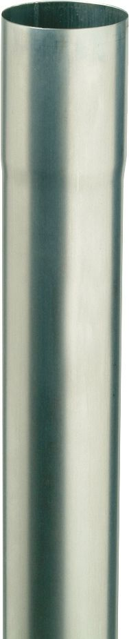 TUBE D'EVAC.ZINC /M. 0,7MM ROND 80MM 1M