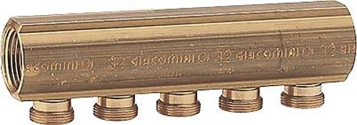 "COLLECT.GIACOMINI 4/4""FF+MAMELON 4X18AA"
