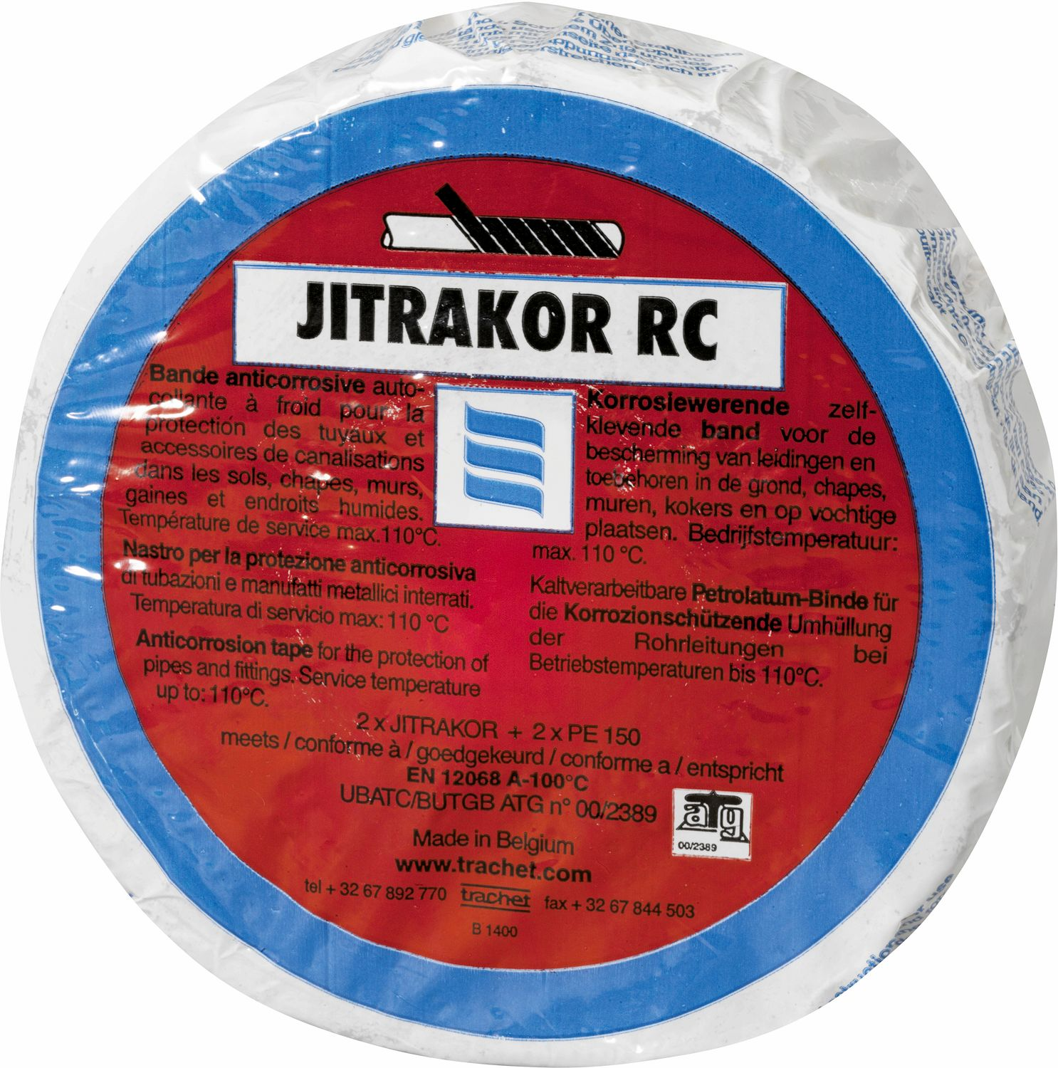 ANTIKORR.BAND JITRAKOR RC WW 50MM-10M
