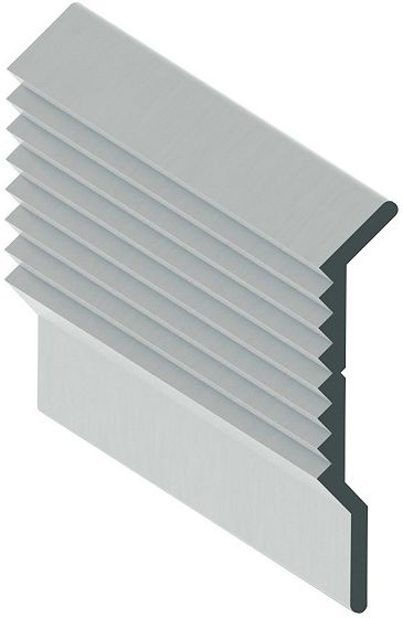 ALU PROFILE MUR.ANODISE NAT.60X6,5MM 3M