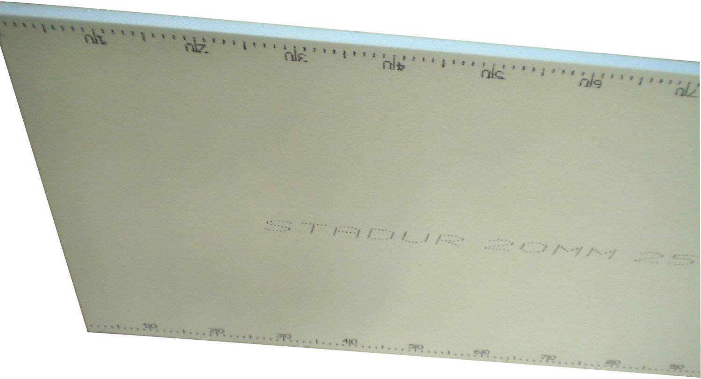 BOUWPLAAT STYROFOAM 2600X600X50MM