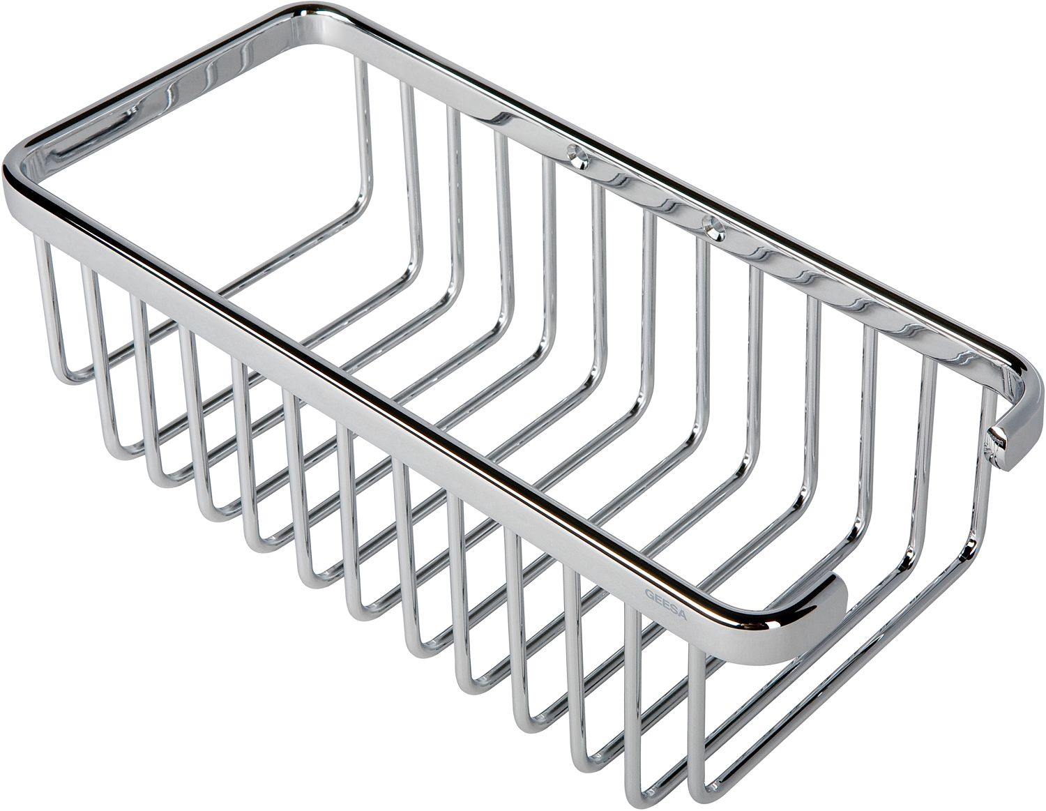 PORTE-BOUT./EPONGE GEESA BASKET CHROME