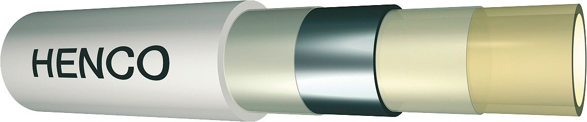 ALU PEX TUBE HENCO 75X6 LONG. 5M PAR M