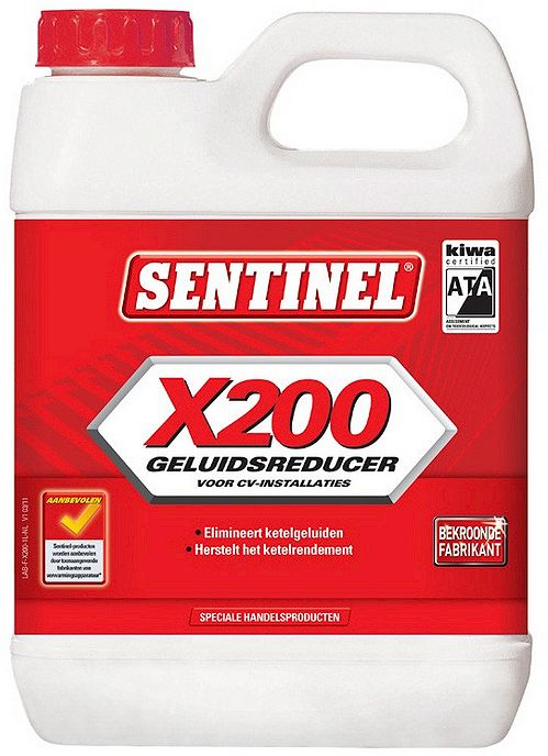 CV KETEL ONTKALKER SENTINEL X200 1 LITER