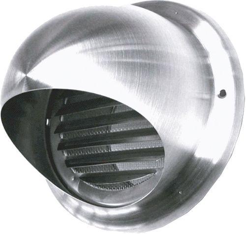 VERLUCHT.ROOSTER INOX 100MM SUS <450M³