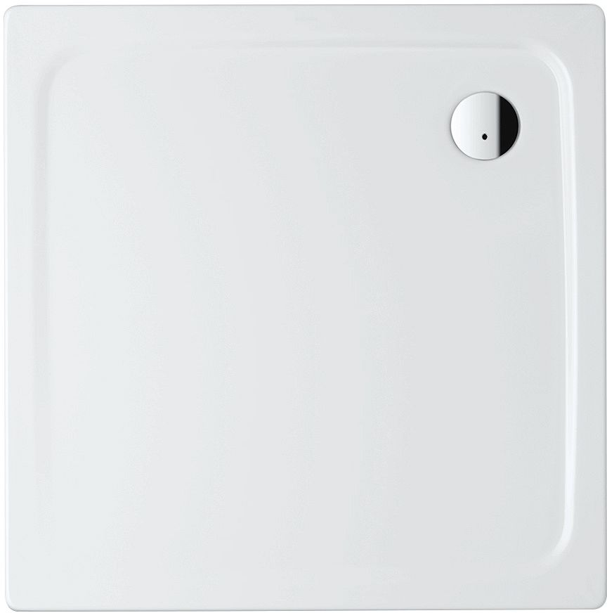 TUB PLTST.SUPERPLAN KALD.100-100-2,5 WIT