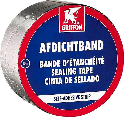 BANDE D'ETANCH.ALU GRIFFON 10CM ROUL.10M