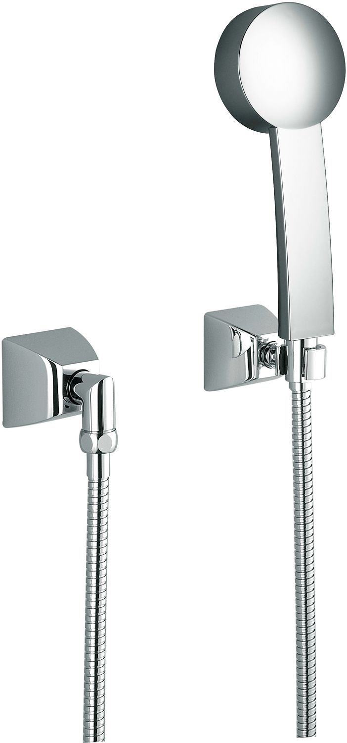 GARNITURE DOUCHE SQUARE V&B CHROME