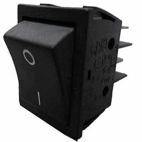 TWEEPOLIGE HOOFDSCHAKELAAR ZONDER LED