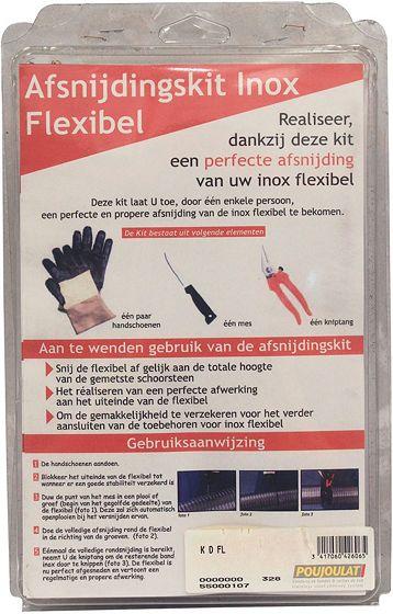 AFSNIJDKIT V.INOX FLEXIBEL COPRO-FLEX