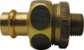 "PROFIPR.GAZ RACC.UNION VIEGA 3/4""M-18MM"