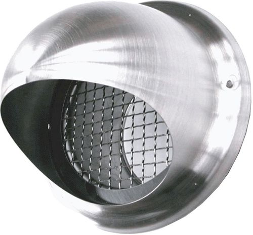 GRILLE DE PULSION INOX 150MM SV