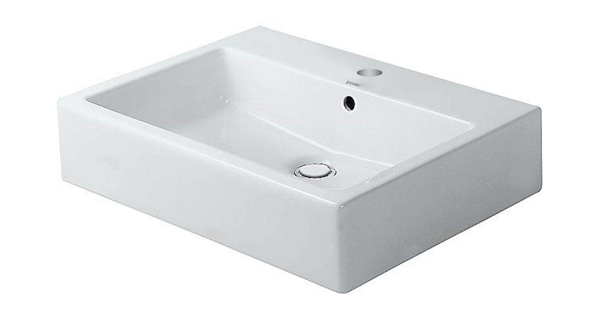 Nieuwe Badkamer Berekenen ~ opbouwlav vrijst vero dur 50cm +kr g wit  desco be
