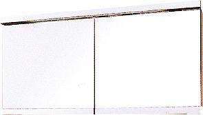 SPIEGELK.FIMS C40 1D +LICHT 60CM R GRIJS
