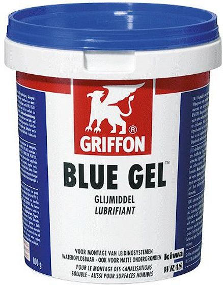 GLIJMIDDEL BLUE GEL POT 800 GRAM