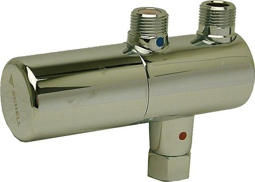 ROBINET D'EQUERRE THERMOSTAT SCHELL