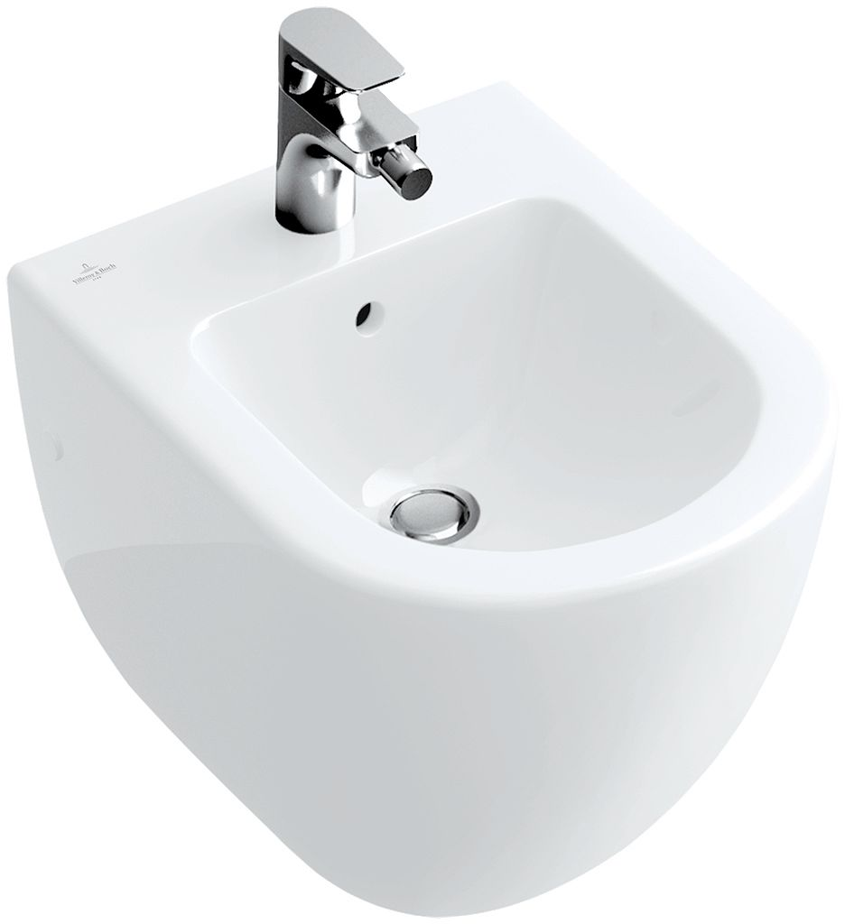 BIDET SUSPENDU SUBWAY V&B BLANC