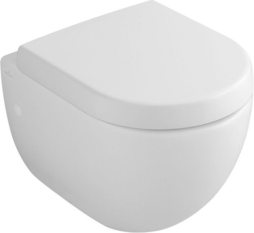 WC SUSPENDU COMPACT SUBWAY V&B BLANC